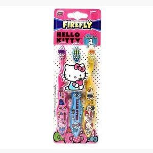 🆕 Firefly Hello Kitty Toothbrush - 3 Pack